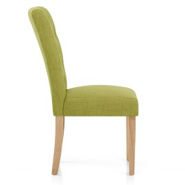 Vigo Chair Oak & Green