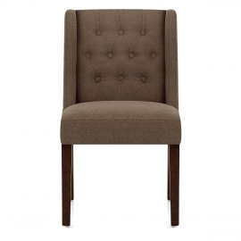 Chatsworth Walnut Dining Chair Brown