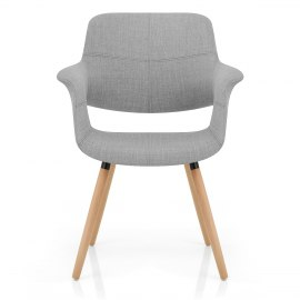 Finley Eames Style Chair Oak & Grey