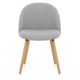 Verve Dining Chair Oak & Grey