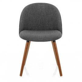 Verve Dining Chair Walnut & Charcoal
