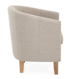 Tub Chair Tweed Fabric