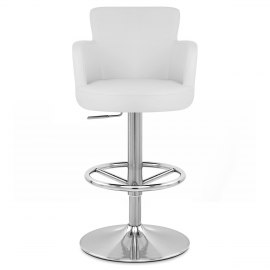 Chateau Brushed Bar Stool White