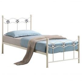 City block 3ft single white modern metal bed frame - Beds Amp Headboards Atlantic Shopping