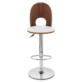 Bolero Wooden Stool White