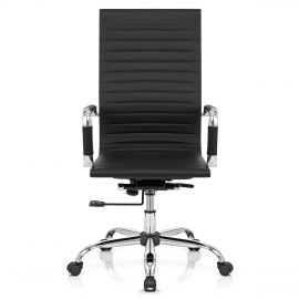 Metro Eames Style Office Chair Black