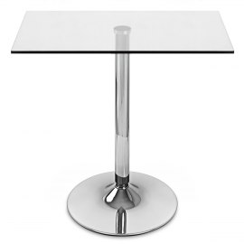 XL 80cm Glacier Square Dining Table