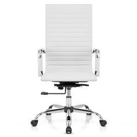 Metro Eames Style Office Chair White