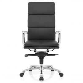 Eames Style 3 Cushion Office Chair Black