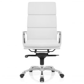 Eames Style 3 Cushion Office Chair White