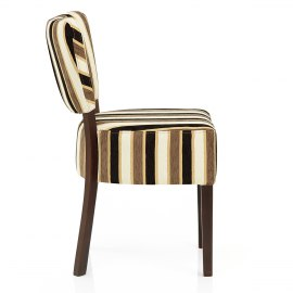 Ramsay Walnut Dining Chair Yale Stripe