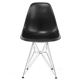 Eames Style DSR Chair Black