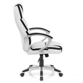 Cadiz Luxury Office Chair White & Black