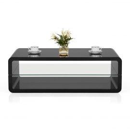 black rectangle coffee table. Omega Coffee Table Black Rectangle