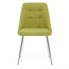 Shanghai Dining Chair Green Fabric
