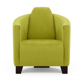 Maverick Chair Green Fabric