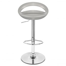 Crescent Bar Stool Silver