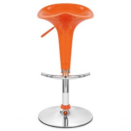 Gloss Coco Bar Stool Orange