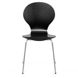 Candy Chair Black  sc 1 st  Atlantic Shopping & Black Dining u0026 Kitchen Chairs | Atlantic Shopping