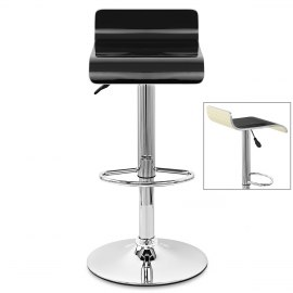 Glimmer Bar Stool Black & Cream