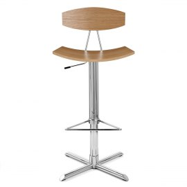 Blade Bar Stool Oak
