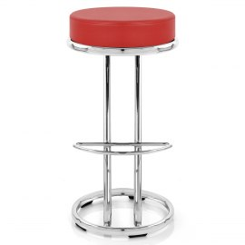 Zizi Kitchen Stool Red
