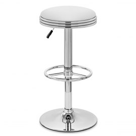 Java Bar Stool White