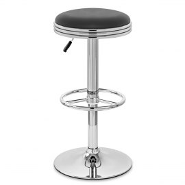 Java Diner Stool Black