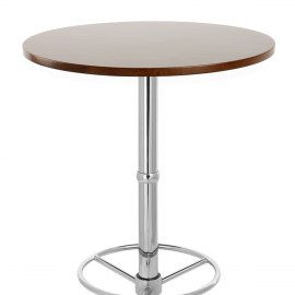 Dial Poseur Table Walnut