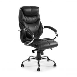 Real Leather Seat - Office Chairs