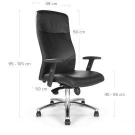 skyline office chair black atlantic shopping. Black Bedroom Furniture Sets. Home Design Ideas