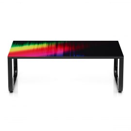 Spectrum Glass Coffee Table