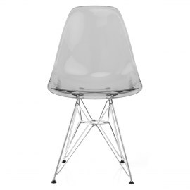 Eames Style DSR Chair Smoked