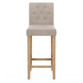 Brookes Oak Stool Tweed Fabric