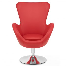 BB Swivel Chair Red