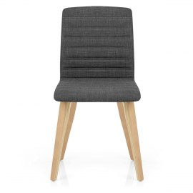 Lorna Dining Chair Oak & Charcoal