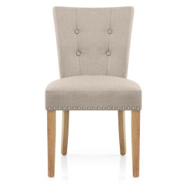Buckingham Dining Chair Oak   Tweed FabricDining   Kitchen Chairs at great prices   Atlantic Shopping. Oak Dining Chairs With Cream Leather Seats. Home Design Ideas