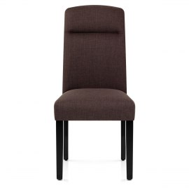 Osborne Dining Chair Brown Fabric
