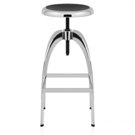 Orbit Chrome Stool