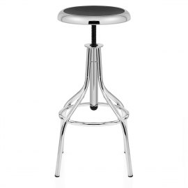 Apollo Chrome Stool