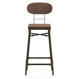 Coast Stool Dark Wood