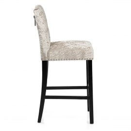 Barrington Bar Stool Beige Velvet