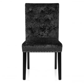 Barrington Dining Chair Black Velvet