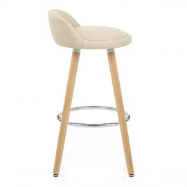 Jive Wooden Stool Cream
