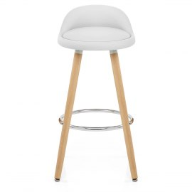 Jive Wooden Stool White