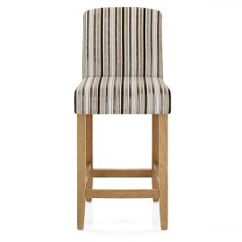 carter oak bar stool stripe fabric. Interior Design Ideas. Home Design Ideas