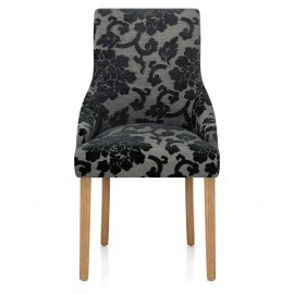 Charlton Chair Charcoal Baroque