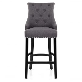 Ascot Bar Stool Charcoal Fabric  sc 1 st  Atlantic Shopping & Grey - Fabric Seat - Bar Stools islam-shia.org