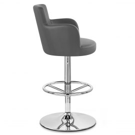 Chateau Bar Stool Grey
