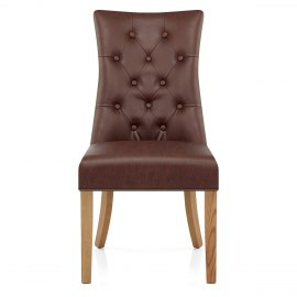 Padstow Dining Chair Antique Brown